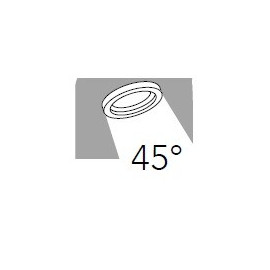Flusso d'illuminazione di 45 ° con Raggio Laterale