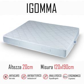 Materasso ignifugo gomma 120x190 in...