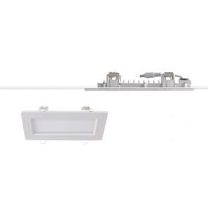 Le plafond abaissé en aluminium blanc...
