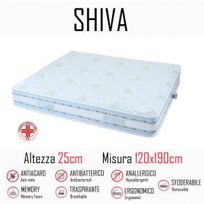 Materasso Shiva9 Zone 120x190 in...
