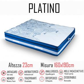 Matelas Platinum 160x190 avec...