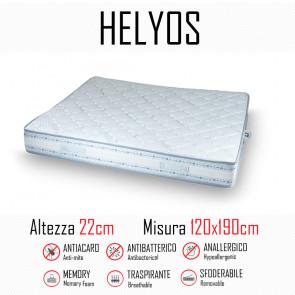 Materasso Helyos 120x190 in gomma e...