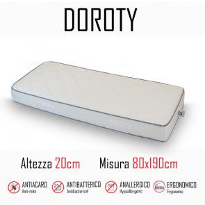 Matelas Doroty 80x190 en polyuréthane...