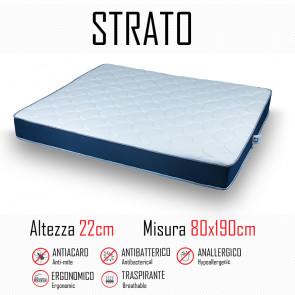 Matelas Strato 80x190 en polyuréthane...