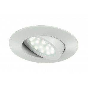 INC-ZENIT-5W BCO - Incasso Controsffitto Faretto Tondo Policarbonato Bianco Led 5 watt Luce Calda