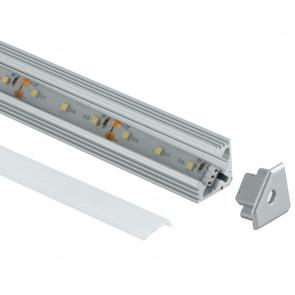 Profil angulaire 1 m pour bande LED...