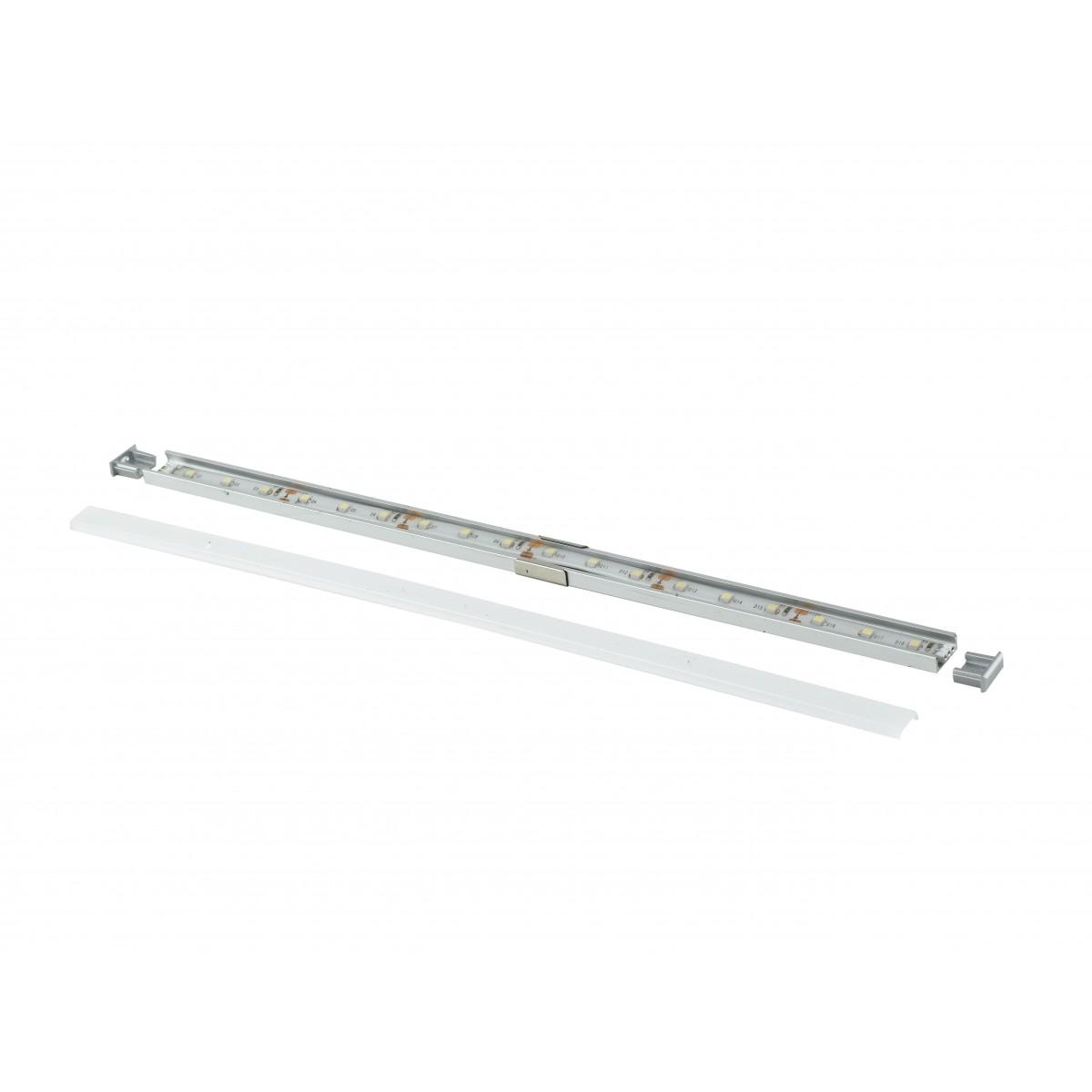 I-PROFILO-MILANO - Profilo 1 m per Strip Led con Tappi 1,52x0,6 cm