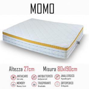 Matelas Momo 80x190 caoutchouc et...