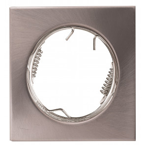 INC-REFLEX-Q-SF1 NIK Strutture da incasso REFLEX per lampade MR16 o GU10 colore nickel quadro fisso 8x8 cm