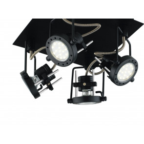 Plafonnier Spots Lampes Spot métal...