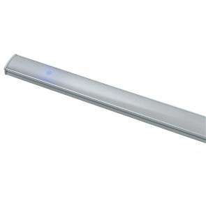 LEDBAR-UNIX-45 Barra led sotto pensile UNIX in alluminio cm 45L x 0,9H x 1,7P SMD bianco con diffusore in policarbonato riflette