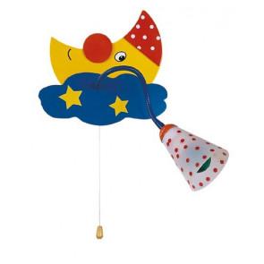 K-SOGNO/AP Applique da parete orienttabile Sogno per cameretta bimbi colorato lampada per bambini