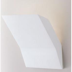 I-MONTBLANC-AP Applique MONTBLANC moderno a parete in gesso verniciabile 1xG9 max 28W