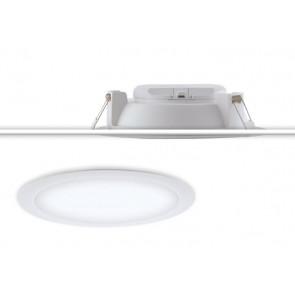 INC-HORUS-20W - Faretto Bianco Tondo Termoplastica Incasso Cartongesso Led 20 watt Luce Naturale