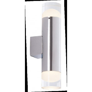 LED-W-ZEPHYR-2 Applique a parete ZEPHYR design moderno in metallo 2 luci diffusore acrilico SMD
