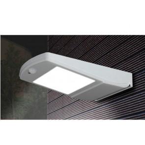 LED-EOS-SOLAR Applique a parete EOS con sensore e pannello solare con tre funzioni 4W 450Lm 4000K IP66