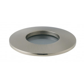 INC-VIPER-R-NIK Struttura da incasso VIPER per lampada GU10 tonda fissa Nickel IP65 dm 82 mm