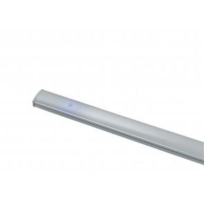 LEDBAR-UNIX-90 Barra led sotto pensile UNIX in alluminio cm 90L x 0,9H x 1,7P SMD bianco con diffusore in policarbonato riflette