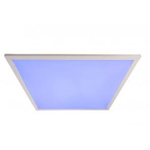 LED-PANEL-60X60-RGBW Pannello led PANEL in aluminio bianco 60x60 cm dimmerabile e cambio intensita di luce RGB o bianca con tele