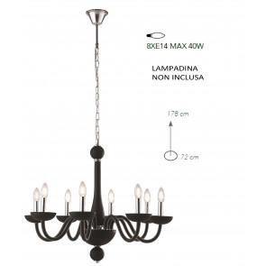 Lampadario a soffitto Alfiere design...
