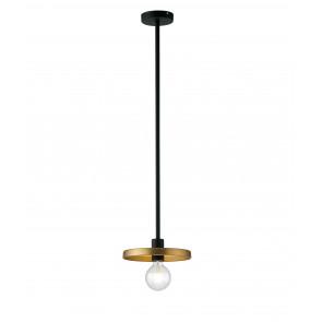 Lampadario a soffitto sospensione Twiga design moderno in metallo nero e oro satinato