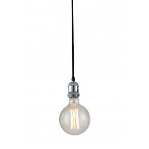 Lampadario a soffitto sospensione Vintage Groove design moderno in alluminio colore cromo