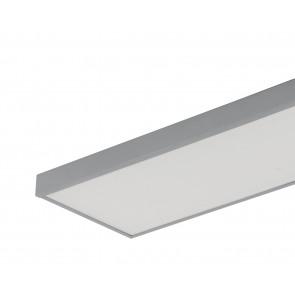 Struttura in metallo per montqggio plafoniera per serie PANEL  BIANCO 30X120 cm