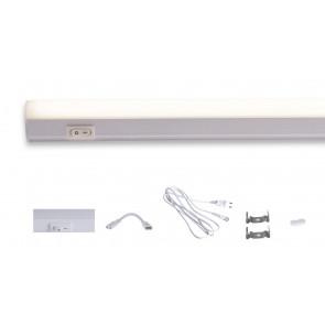 Barre LED sous élément mural avec...