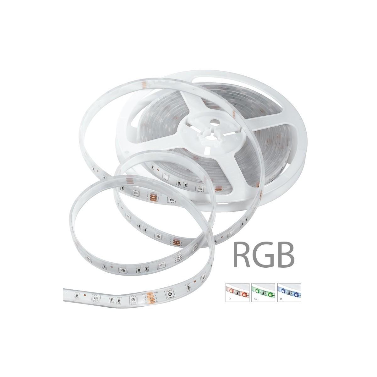 STRIPLED5050IP67-RGB - Strisica led RGB con rotolo di 5 m 72 watt