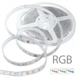 STRIPLED5050IP67-RGB - Strisica led RGB con rotolo di 5 m 72 watt