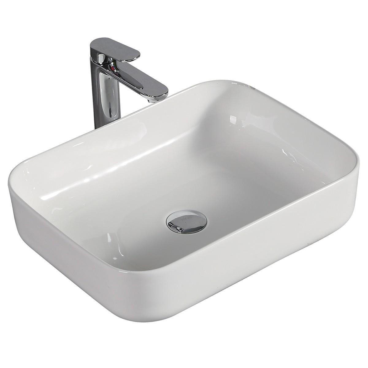 Lavandino bianco lucido di design 51X39