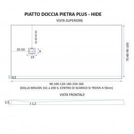 Piatto Doccia Nero Mineral Marmo |