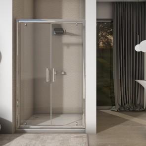 Porta doccia saloon ingombro ridotto...
