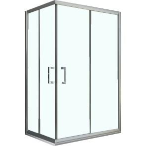 Box doccia Angolare con doppia porta...