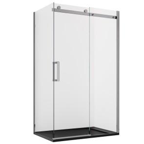 Cabine de douche en coin H190 Porte...