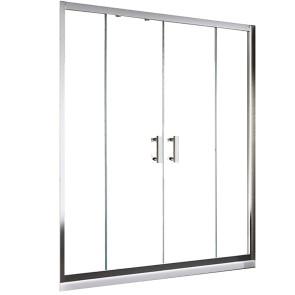 porta doccia con apertura centrale