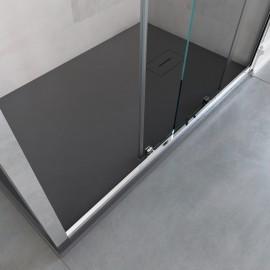 Cabine de douche trois côtés H195 une