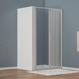 Cabine de douche en PVC 1 face avec