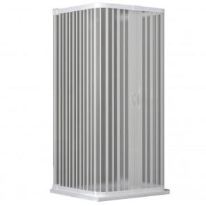Cabine de douche pliante en PVC sur trois côtés