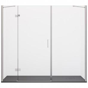 Porta Doccia  H195 cm Anta Battente...